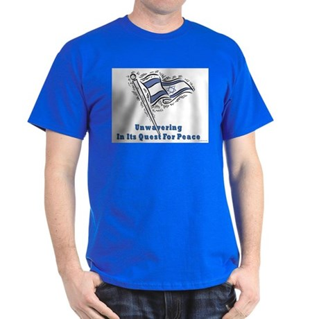 Israel's Quest for Peace Dark T-Shirt