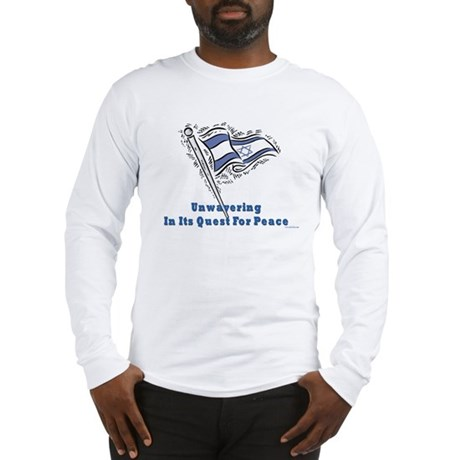Israel's Quest for Peace Long Sleeve T-Shirt
