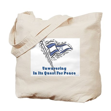 Israel's Quest for Peace Tote Bag