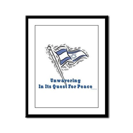Israel's Quest for Peace Framed Panel Print