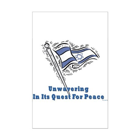 Israel's Quest for Peace Mini Poster Print