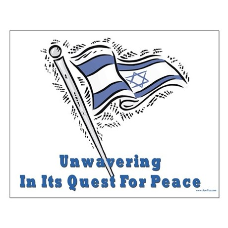 Israel's Quest for Peace Small Poster
