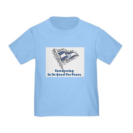 Israel's Quest for Peace Toddler T-Shirt