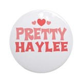 Haylee Ornament (Round)