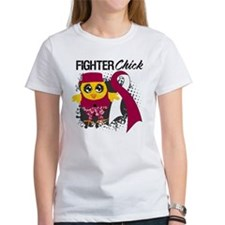 Head Neck Fighter Chick Tee