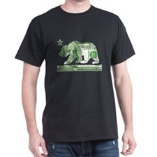 California Money Bear (vintage distressed) T-Shirt