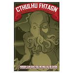 Strk3 Cthulhu Large Poster