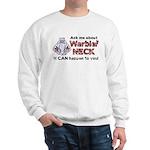Ask Me About Warbler Neck Sweatshirt