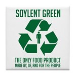 Strk3 Soylent Green Tile Coaster
