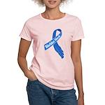 Warbler Neck Feather Ribbon Women's Light T-Shirt