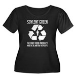 Strk3 Soylent Green Women's Plus Size Scoop Neck D