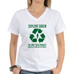 Strk3 Soylent Green Women's V-Neck T-Shirt