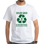 Strk3 Soylent Green White T-Shirt