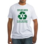 Strk3 Soylent Green Fitted T-Shirt