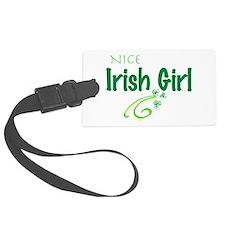 Nice Irish Girl Large Luggage Tag