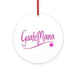 GuateMama Text Ornament (Round)
