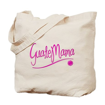 GuateMama Text Tote Bag