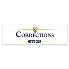 Corrections Officer Bumper Bumper Sticker