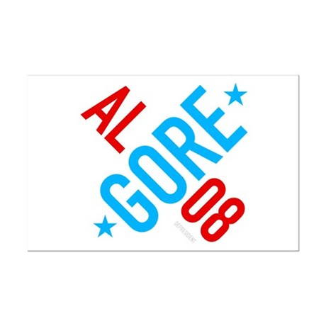 Twisted Al Gore 08 Mini Poster Print