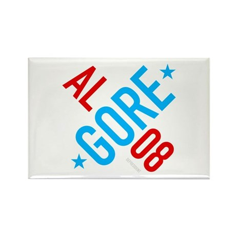 Twisted Al Gore 08 Rectangle Magnet (10 pack)