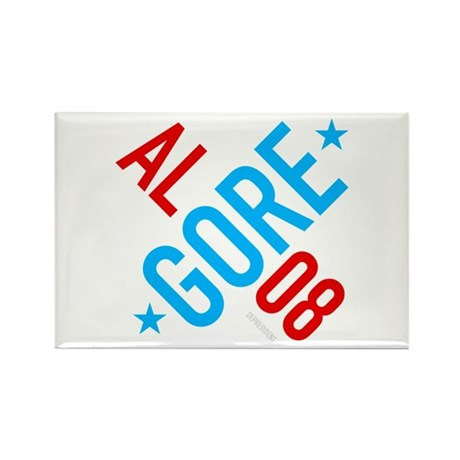 Twisted Al Gore 08 Rectangle Magnet