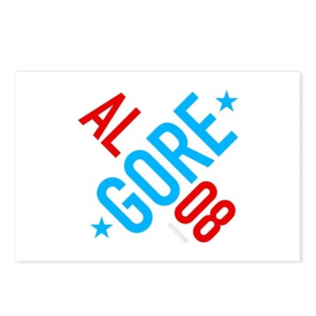 Twisted Al Gore 08 Postcards (Package of 8)