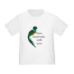From Guatemala Bird Toddler T-Shirt
