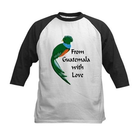 From Guatemala Bird Kids Baseball Jersey