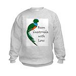 From Guatemala Bird Kids Sweatshirt