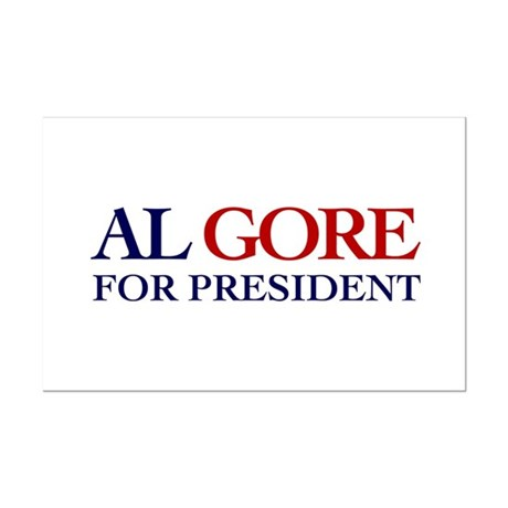 Al Gore for President Mini Poster Print