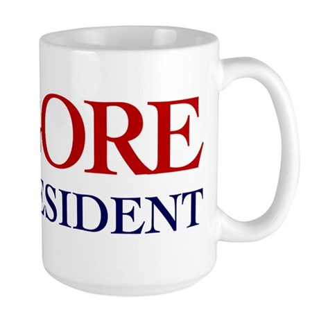 Al Gore for President Large Mug