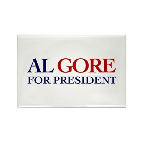 Al Gore for President Rectangle Magnet (100 pack)