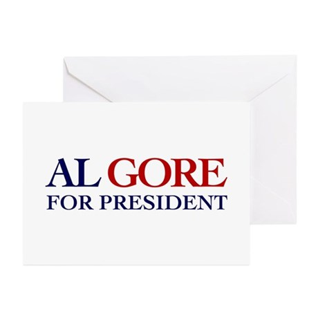 Al Gore for President Greeting Cards (Pk of 10