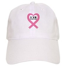 Breast Cancer 5 Year Survivor Baseball Cap