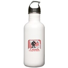 Canadian Hockey Water Bottle