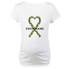 Personalized Autism Ribbon Shirt