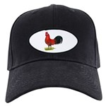 buttercup Rooster Black Cap