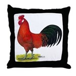 buttercup Rooster Throw Pillow