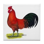 buttercup Rooster Tile Coaster