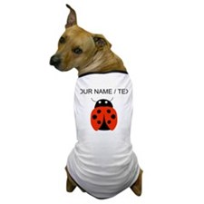 Custom Red Ladybug Dog T-Shirt