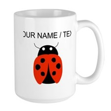 Custom Red Ladybug Mugs