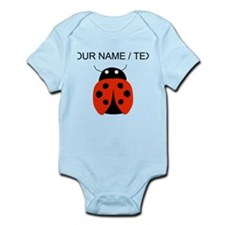 Custom Red Ladybug Body Suit