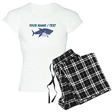 Custom Cartoon Shark Pajamas
