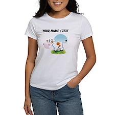 Custom Cartoon Cow T-Shirt