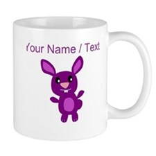 Custom Purple Bunny Mugs