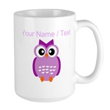 Custom Purple Owl Mugs