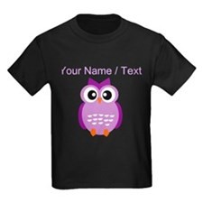 Custom Purple Owl T-Shirt