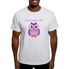 Custom Purple Owl T-Shirt