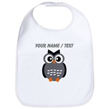 Custom Black Owl Bib