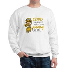 Combat Girl COPD Sweatshirt